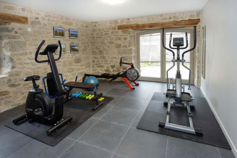 Espace Fitness Gite Maison Chauvet